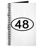 Number 48 Oval Journal