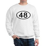 Number 48 Oval Jumper
