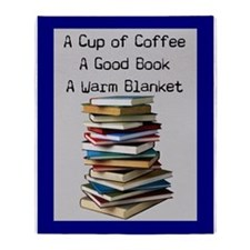 book lovers blanket 4 Throw Blanket