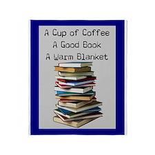 book lovers blanket 4 Throw Blanket