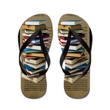 Book Lovers Flip Flops Flip Flops