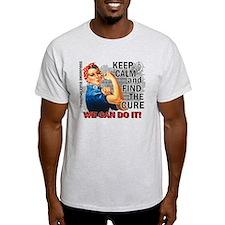 Rosie Keep Calm Mesothelioma T-Shirt