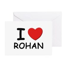 I love Rohan Greeting Cards (Pk of 10)