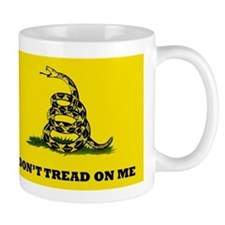 Dont Tread on Me Flag Mug