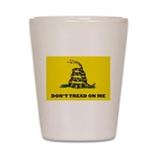Dont Tread on Me Flag Shot Glass
