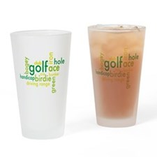 golf Drinking Glass