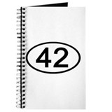 Number 42 Oval Journal
