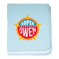 Super Owen baby blanket