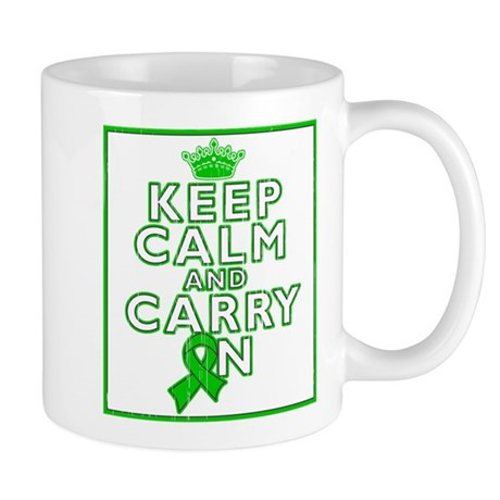 TBI Keep Calm Carry On Mug