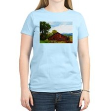Barn in the Rockies T-Shirt
