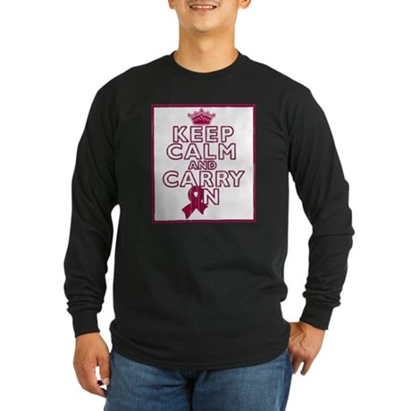 Sickle Cell Anemia Keep Calm Carry On Long Sleeve