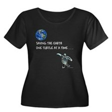 ONE TURTLE HATCHLING AT A TIME Plus Size T-Shirt