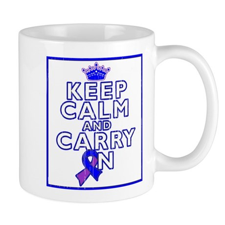 Rheumatoid Arthritis Keep Calm Carry On Mug