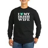 I Love My Irish Wife T
