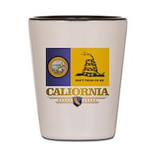 California Gadsden Flag Shot Glass
