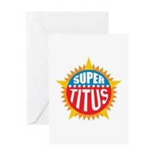 Super Titus Greeting Card