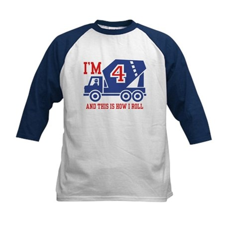 Four Year old Kids Baseball Jersey