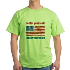 US flag artistic T-Shirt