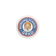Nursing School Grad Mini Button