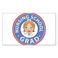 Nursing School Grad Decal