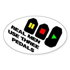 Funny Pedal Decal