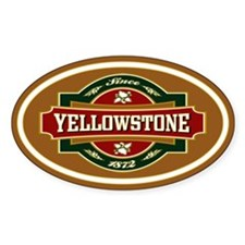 Yellowstone Old Label Decal