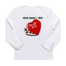 Custom Heart Chocolate Box Long Sleeve T-Shirt