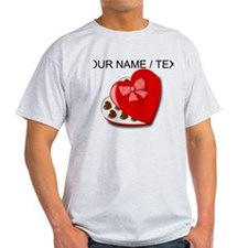 Custom Heart Chocolate Box T-Shirt