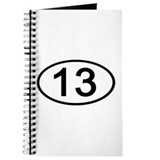 Number 13 Oval Journal