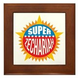 Super Zechariah Framed Tile