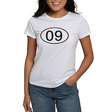 Number 09 Oval Tee