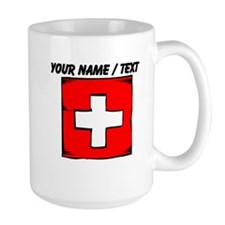 Custom Switzerland Flag Mug
