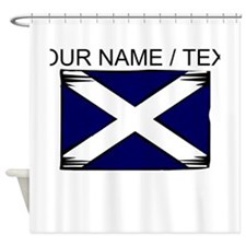 Custom Scotland Flag Shower Curtain