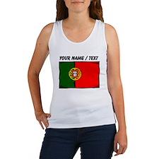 Custom Portugal Flag Tank Top