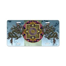 Harvest Moons Dragon Mandala Aluminum License