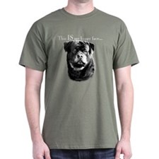 Rottweiler Happy Face T-Shirt