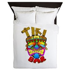 Tiki Bar God Queen Duvet