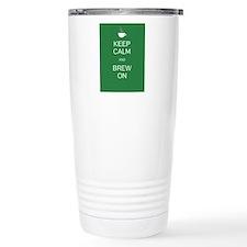Keep Calm and Brew On Travel Mug