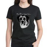Saint Bernard Happy Face Tee
