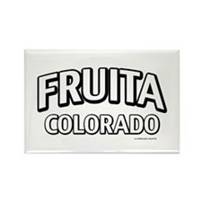 Fruita Colorado Rectangle Magnet