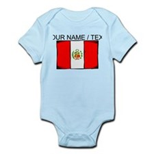 Custom Peru Flag Body Suit