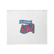 The Incredible Adan Throw Blanket