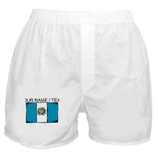 Custom Guatemala Flag Boxer Shorts