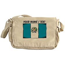 Custom Guatemala Flag Messenger Bag