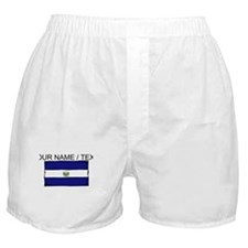 Custom El Salvador Flag Boxer Shorts