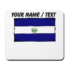 Custom El Salvador Flag Mousepad