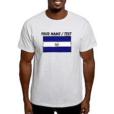 Custom El Salvador Flag T-Shirt