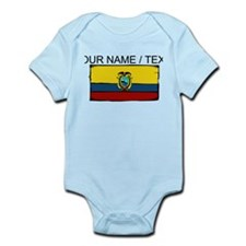Custom Ecuador Flag Body Suit
