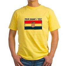 Custom Croatia Flag T-Shirt