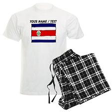 Custom Costa Rica Flag Pajamas